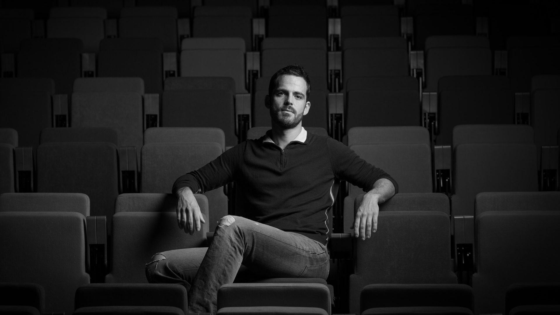 Portrait de David L'Ebrellec