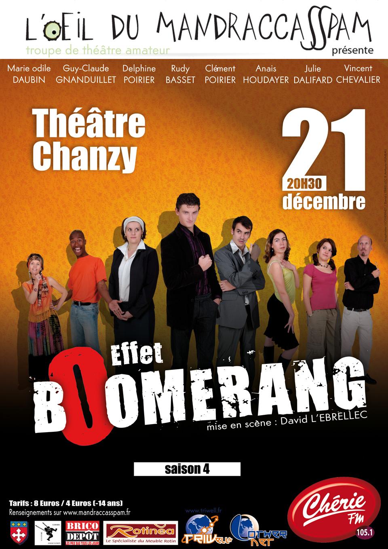 Affiche Effet Boomerang