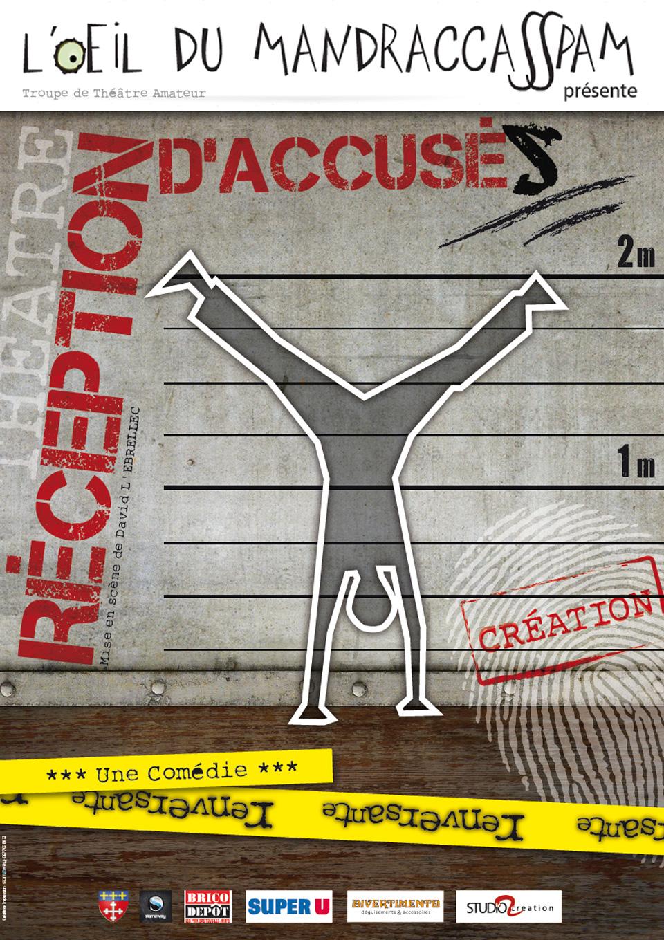 Affiche Réception d'accusés